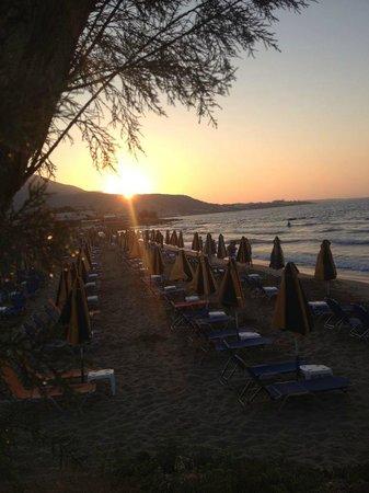 Aggelo Hotel Stalis : Nearest beach area
