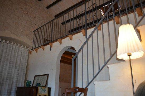 Villa Quartarella: Interno di una camera
