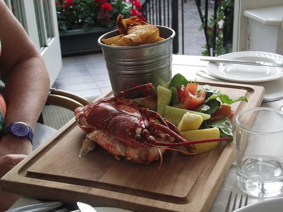 The Georgian House Restaurant: Christine's Half a Lobster