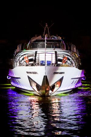 Рэдиссон Ройал Москва: Primavera, one of the super yacths of Flotilla Radisson Royal