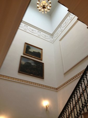 Chandos House: stairwell