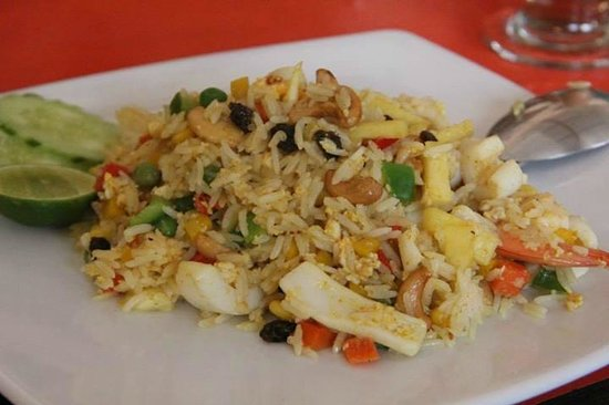 Sitti Cafe and Restaurant: seafood fried rice