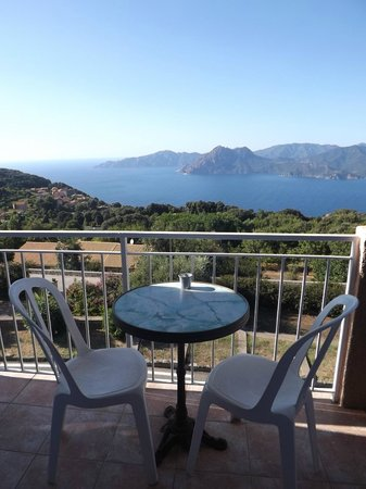 Hotel Scandola : balcone vista mare