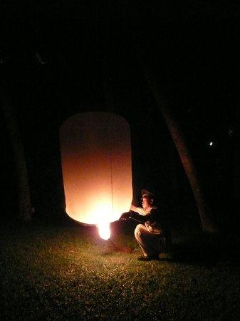 Four Seasons Resort Chiang Mai: Lantern release