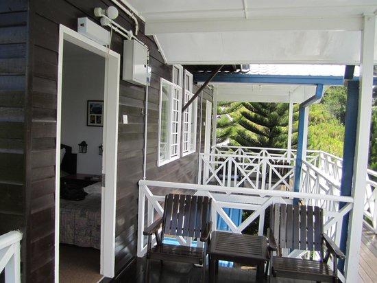 Kinabalu Pine Resort: Directly outside of the room