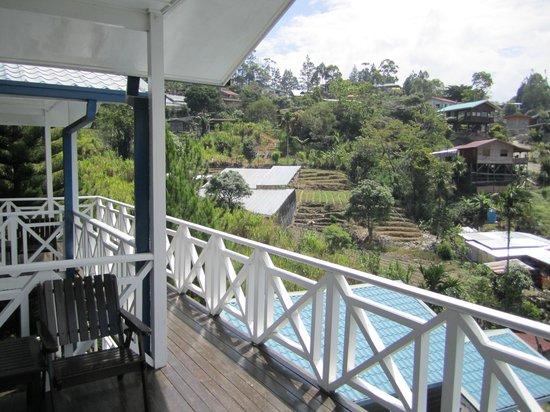 Kinabalu Pine Resort: The patio