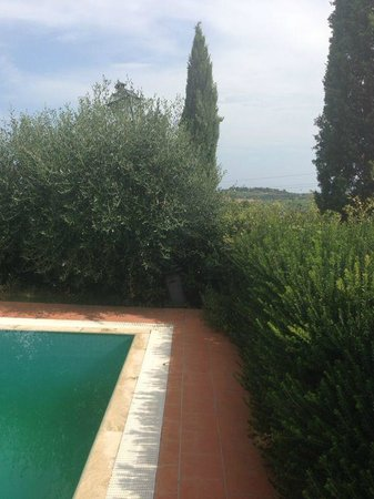 Hotel Villa La Cappella: Gerade Laterne ...