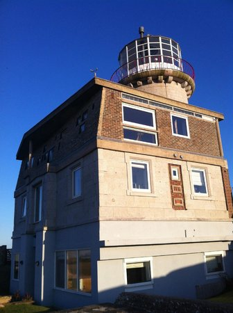 Belle Tout Lighthouse: Exterior view of Belle Tout