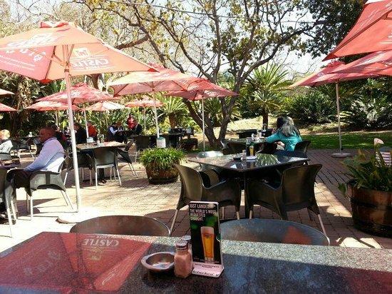 Dros Hatfield Restaurant: Dining on the Terrace in Springbok Park