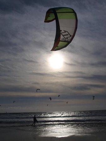 Guincho Beach: kitesurfing