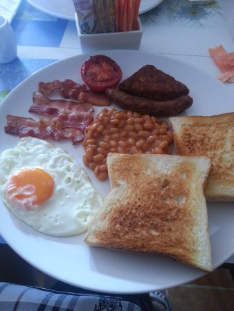 Sansuko Ville Bungalow Resort : American breakfast platter