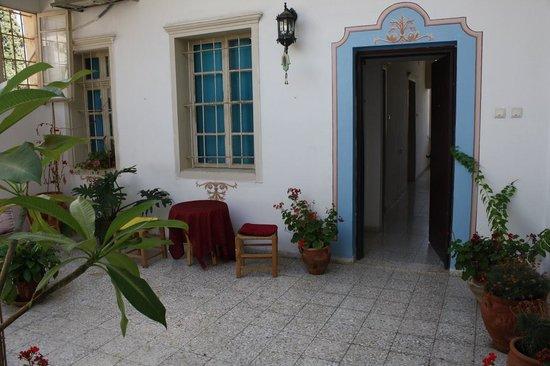 The Fauzi Azar Inn: main door to the apartment