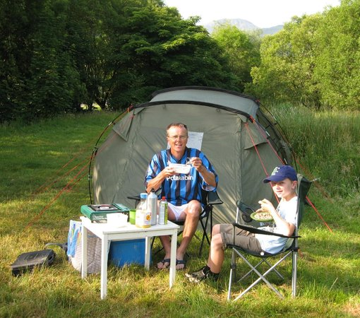 Seatoller Farm B&B: Seatoller Farm campsite