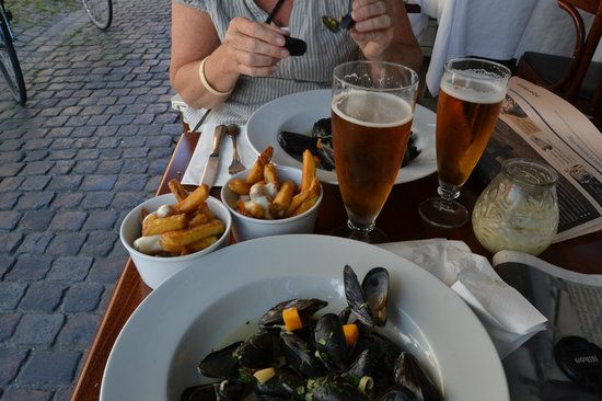 Cafe Wilder : Moules fritte