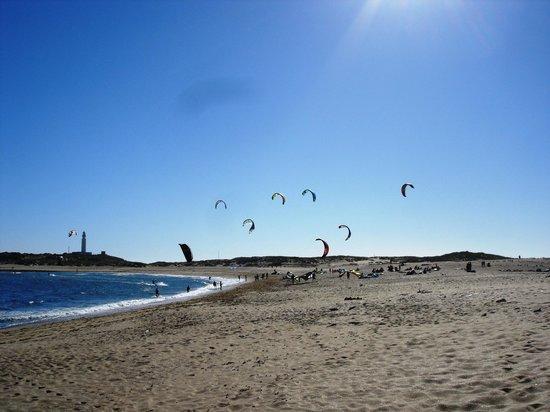 Casas Karen, Los Canos de Meca: lovely clean beach