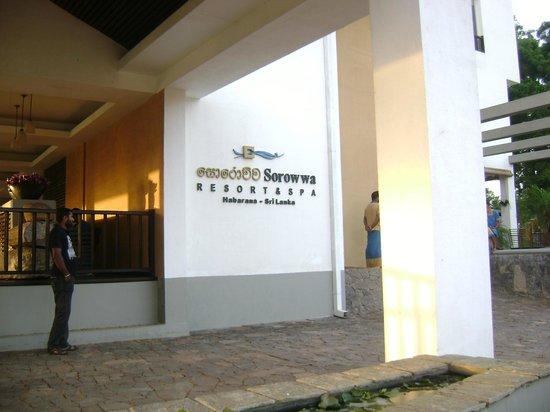 Sorowwa Resort & Spa: The front view