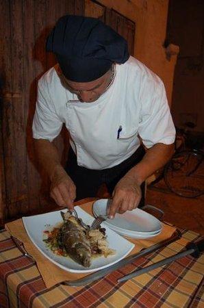 Osteria del Coco Pazzo da Stefano: der Meister persönlich