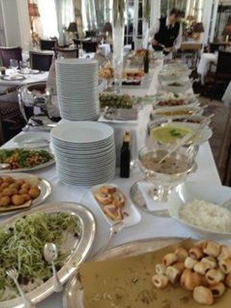 Ristorante Filippo La Mantia : buffet
