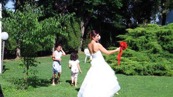 Villa Regina: Che parco meraviglioso!