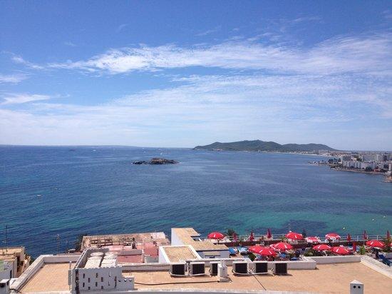 Hotel Cenit: Vista dal balcone
