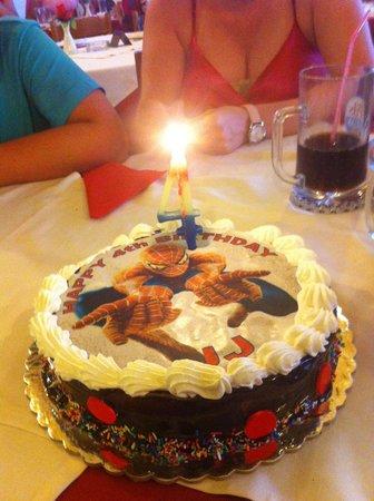 Bakery Patisserie JJs Birthday Cake