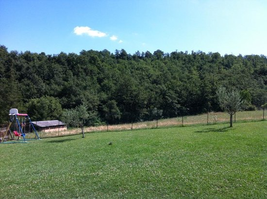 Agriturismo Ponte di Riocchio: The view out of our bedroom