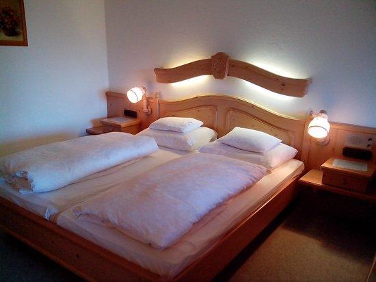 Hotel Omesberg: Vue de la chambre