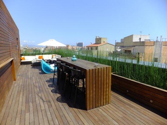 terrasse du bar au 8 me tage picture of renaissance barcelona hotel barcelona tripadvisor. Black Bedroom Furniture Sets. Home Design Ideas