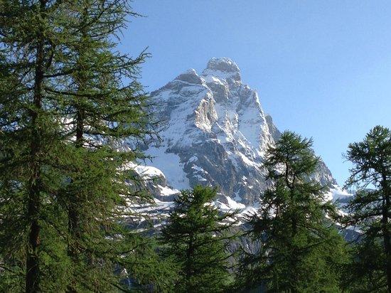 Saint Hubertus Resort: Cervino (Matterhorn) from our room