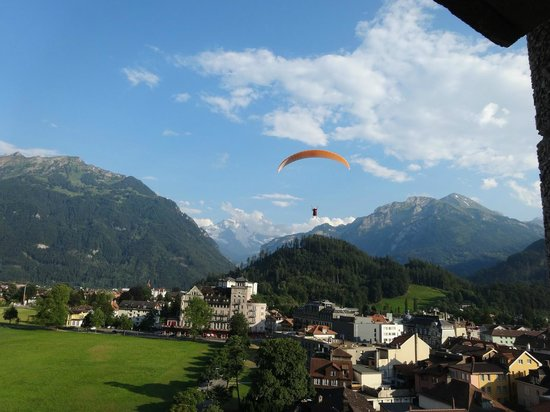 Metropole Hotel Interlaken : The view from our room
