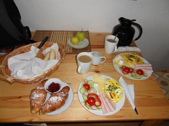 Pension Na Vyhlidce : Frühstück