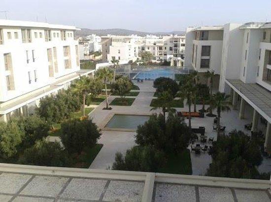 Atlas Essaouira & Spa : vue d'ensemble sur le patio & piscine