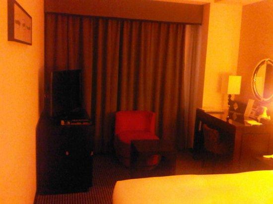 Hotel Villa Fontaine Roppongi: TV and work desk