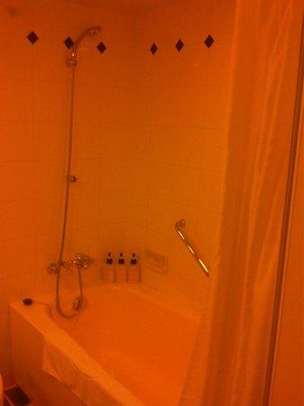 Hotel Villa Fontaine Roppongi: Shower and bath tub