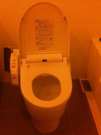 Hotel Villa Fontaine Roppongi: High tech toilet