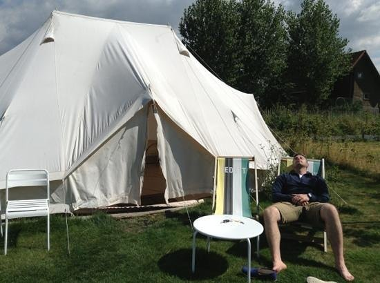 Glamping Ecochique: chilling