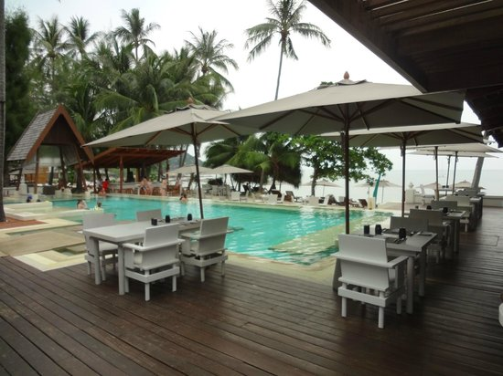 SALA Samui Resort And Spa: Weißer Pool