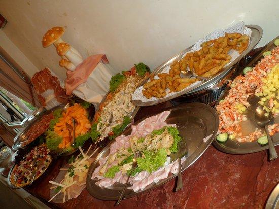 Hotel Simplon: Starter buffet