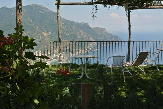 Villa Amore: vista dal bolconcino della camera