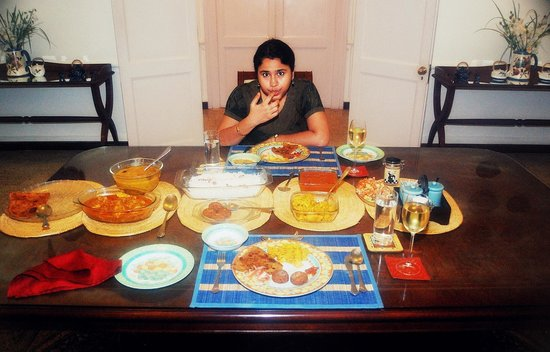 Wild Mahseer : Sumptuous dinner