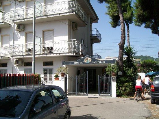 Hotel Zampillo : Ingresso