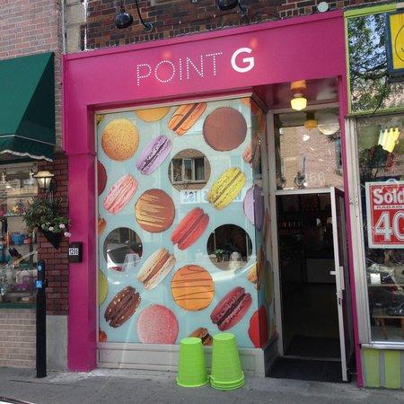 Point G : devanture