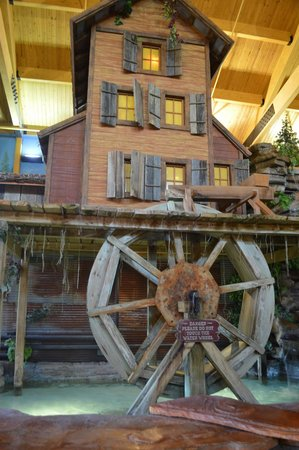Grand Lodge Waterpark Resort : Lobby