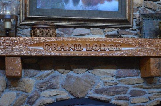 Grand Lodge Waterpark Resort: Lumberjack Restaurant