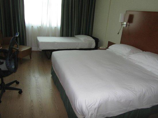 Hilton Rome Airport Hotel: la nostra camera