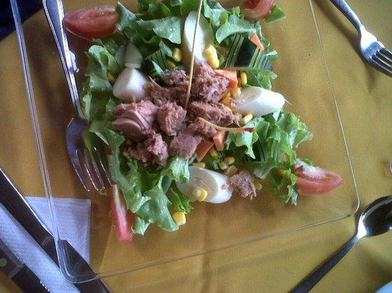 Puerto Lago : salada a provençal