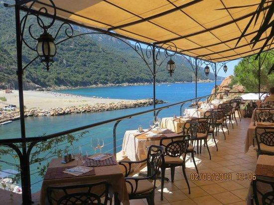 Restaurant le Belvedere: La vue depuis le restaurant