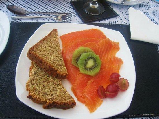 Atlantic Breeze B&B: Ottimo salmone a colazione!!