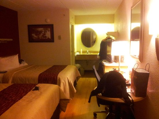 Red Roof Inn Chicago-Downers Grove: the room