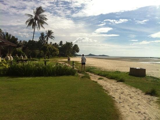 Shiva Samui: What a lovely stroll to breakfast